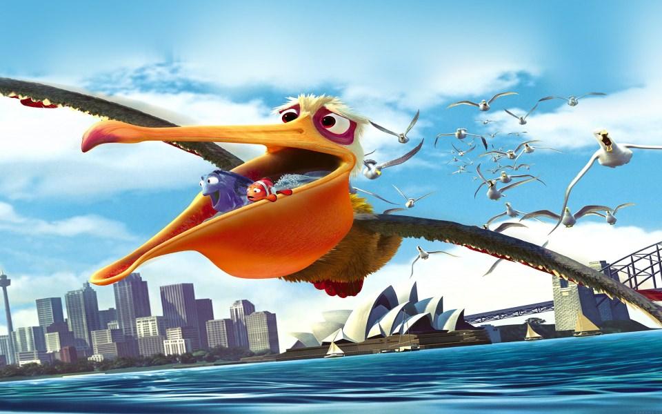 Download Finding Nemo Bird Wallpaper - GetWalls.io
