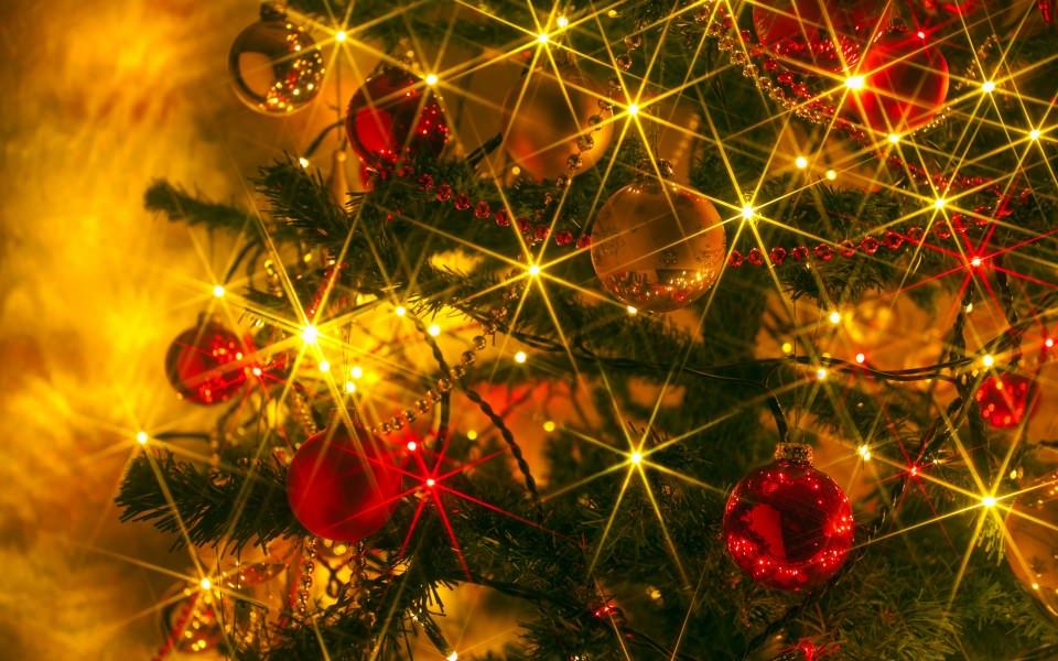 download sparkling christmas lights wallpaper getwallsio - Sparkling Christmas Lights