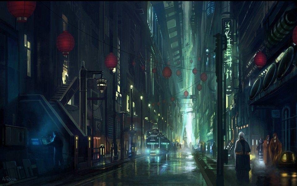 Arte Blade Runner