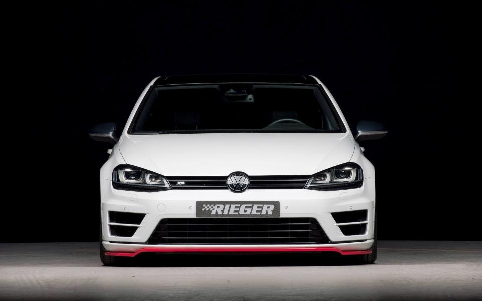 Download Rieger Volkswagen Golf R Wallpapers Hd Wallpaper Getwalls Io