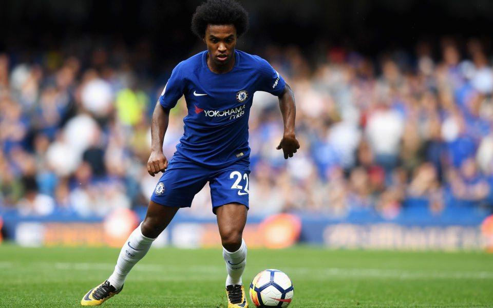 Download Willian Brazilian Football Player Chelsea