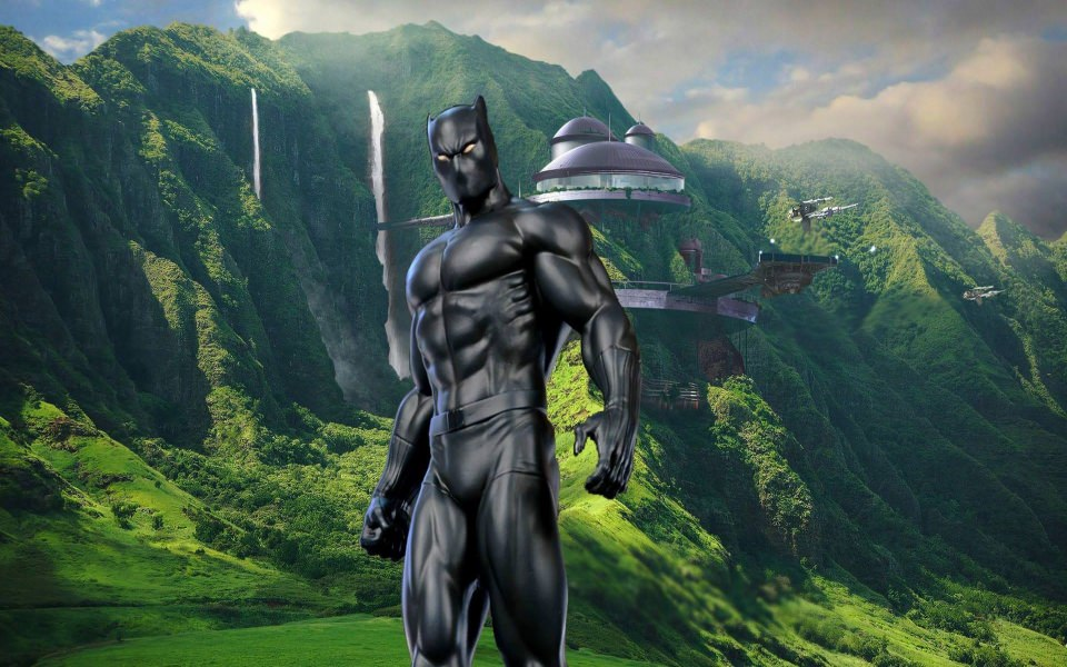 Download Black Panther Marvel 4d 3d Iphone Wallpapers Wallpaper Getwalls Io