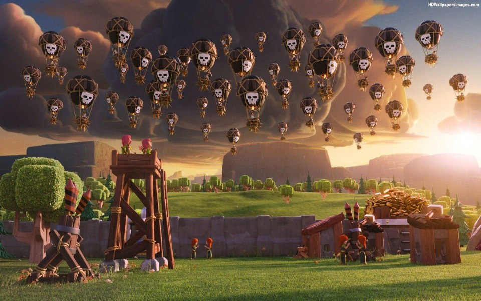 Download Clash Of Clans 2020 Phone Game 4K wallpapers ...