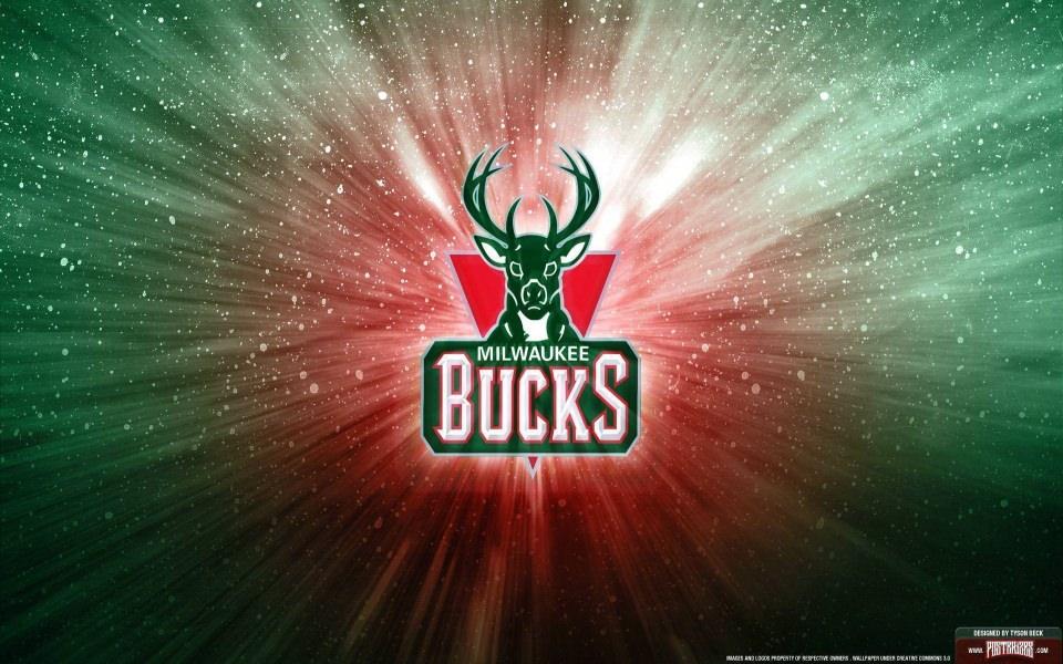 Download Milwaukee Bucks Logo In 4K 3D Wallpaper - GetWalls.io