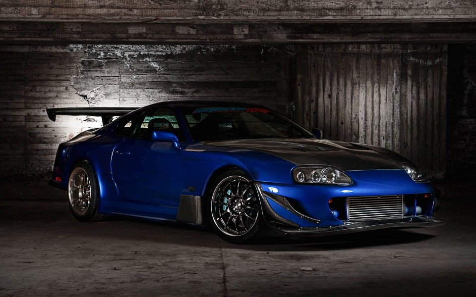 Download Toyota Supra Wallpaper Getwalls Io
