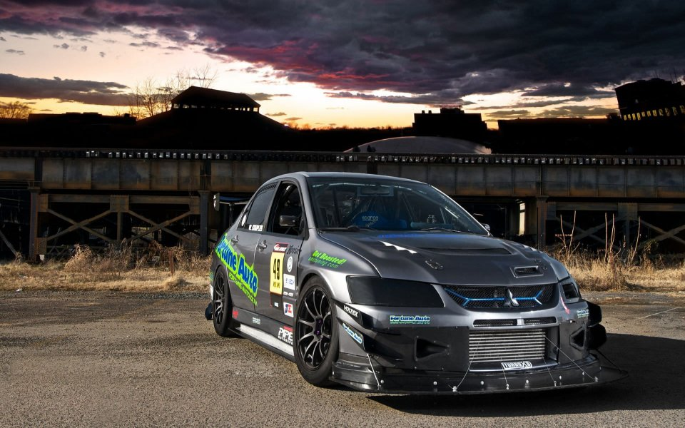 Download 2020 Silver Mitsubishi Lancer Evolution Wallpaper ...