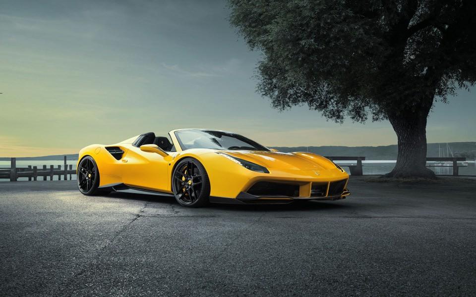 Get 2020 Ferrari 488 Pista Spider Wallpaper  PNG