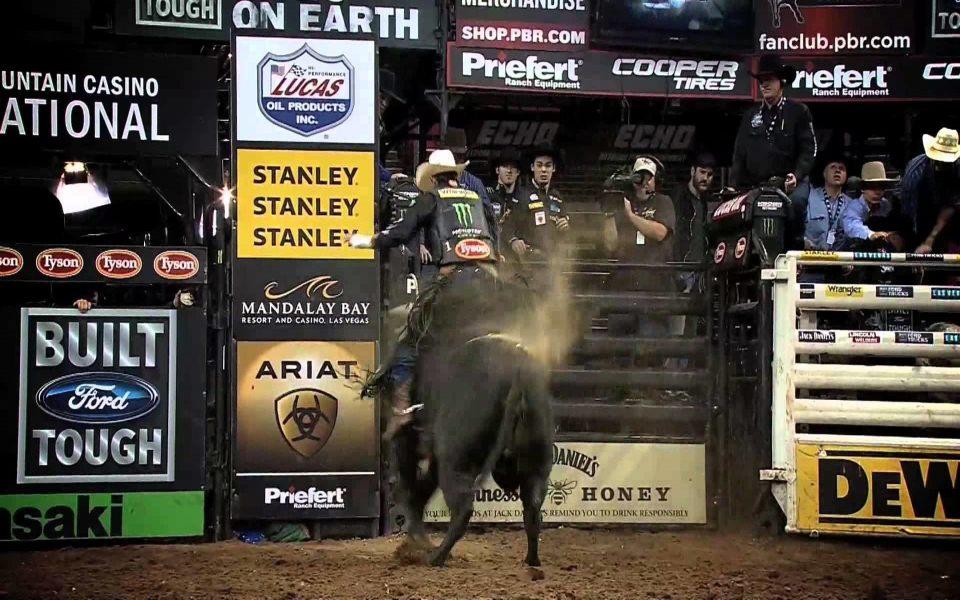 Bull Riding 5K Wallpaper iPhone 6 HD
