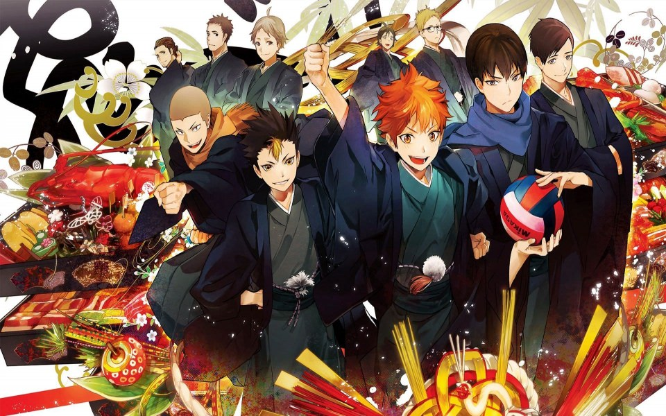 Download Haikyuu Anime Wallpaper Characters Karasuno Team Art 1920x1080 Wallpaper Getwalls Io