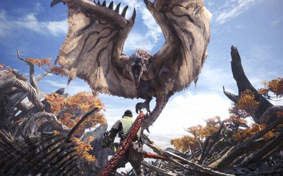 Download Monster Hunter World Iphone Full Hd 5k 2560x1440 Download
