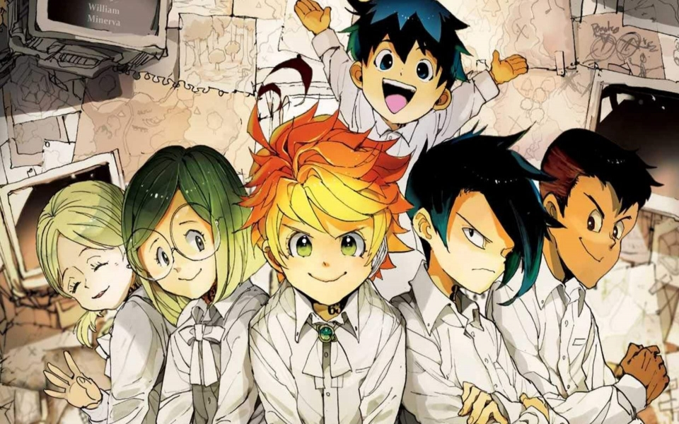 Download The Promised Neverland HD 4K Photos For Mobile ...