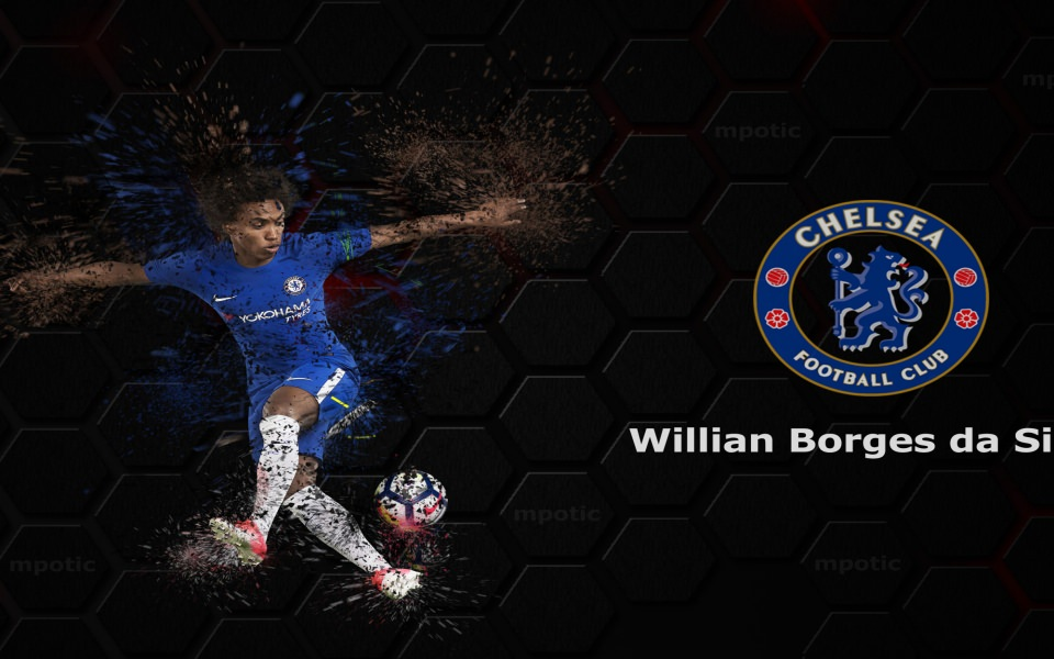 Download Willian Chelsea HD Wallpapers 1920x1080 Download