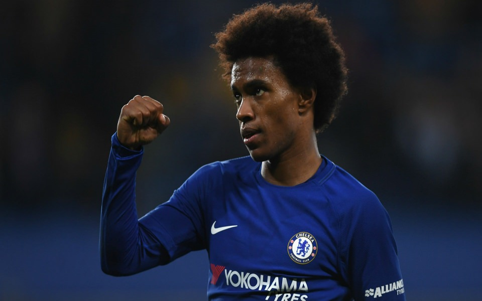 Download Willian Chelsea High Resolution Desktop