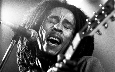 Bob Marley Black And White