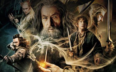 The Hobbit Desolation Of Smaug Film Poster