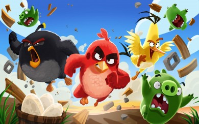 Download Angry Birds Wallpaper Mobile Wallpaper Getwalls Io