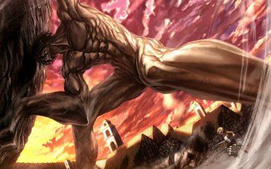 Download Attack Titan Eren Yeager Wallpaper Wallpaper Getwalls Io