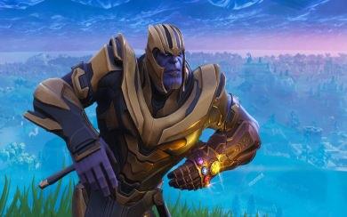 Download Fortnite Thanos Wallpaper Wallpaper Getwalls Io