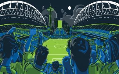 Download Seattle Sounders Phone Wallpaper Wallpaper Getwalls Io