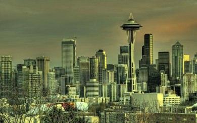 Download Seattle Space Needle Wallpaper Wallpaper Getwalls Io