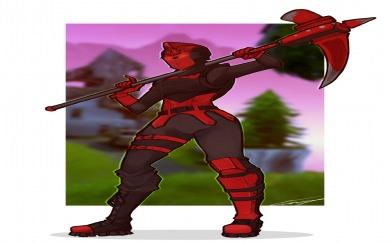 Download Red Knight Fortnite Skin Wallpaper Wallpaper Getwalls Io